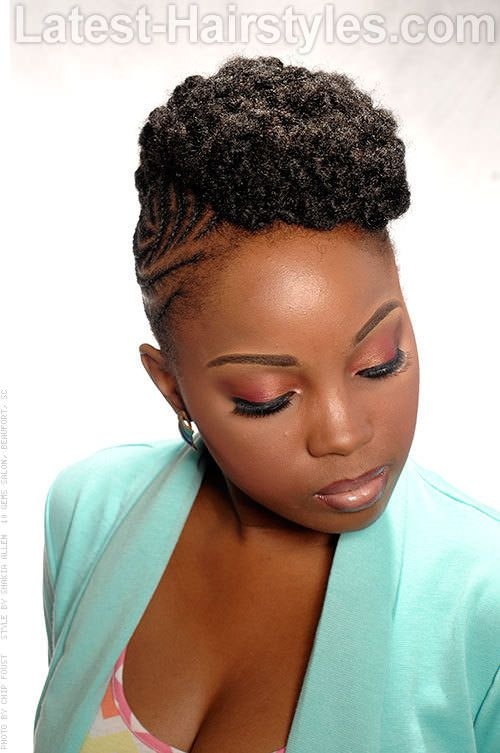 Black Hairstyles The 30 Sexiest Styles For Black Women Natural Hair Mohawk Cornrow Mohawk Braided Mohawk Hairstyles