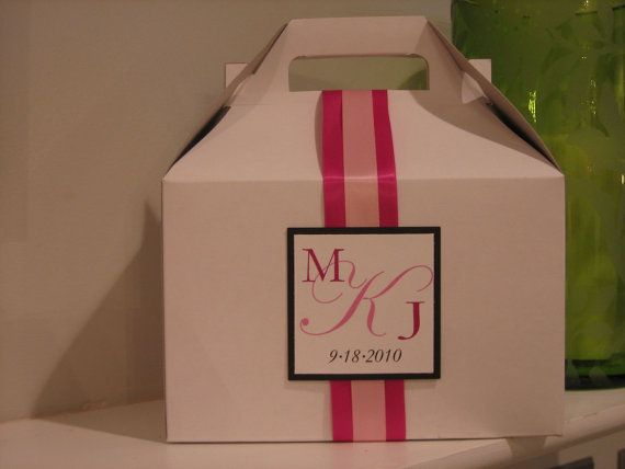 Gable Boxes w/ Vertical Ribbon by JLDesigns718 on Etsy, $2.75