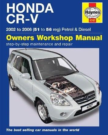 Free Download Honda Cr V 2002 2006 Haynes Service Repair Manual Pdf Scr1 Honda Cr Repair Manuals Honda Crv