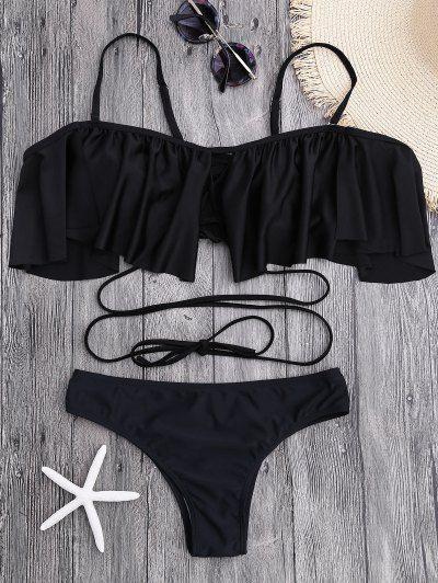 GET $50 NOW   Join Zaful: Get YOUR $50 NOW!http://m.zaful.com/flounce-criss-cross-bikini-set-p_281082.html?seid=1973758zf281082