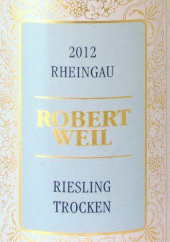 Rheingau - Robert Weil  Riesling Trocken (Present from German guests -  floral / fragrant / fun)