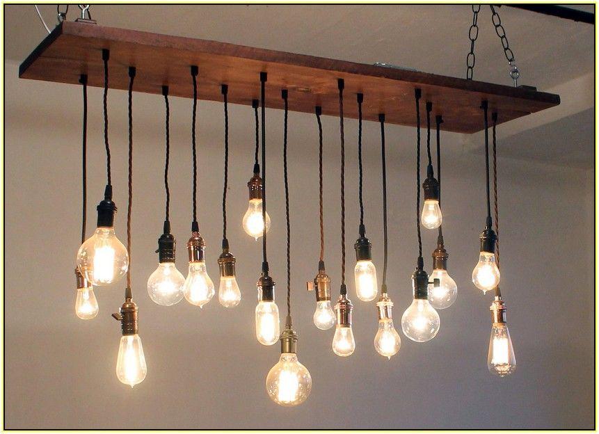 Classy of Hanging Bulb Chandelier Hanging Edison Bulb ...