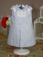 Dress baby girl summer 2013 blue yoedu