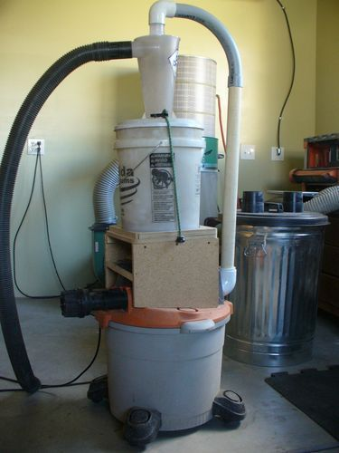 Shop Project: Dust Collection Cart with Dust Deputy | Woodworking