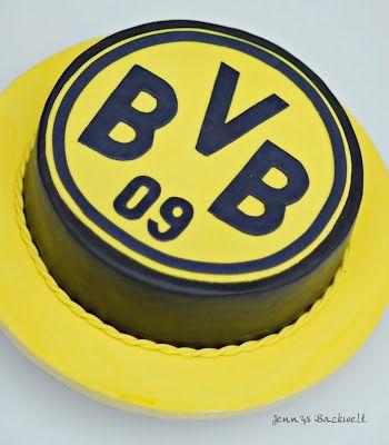 Bvb cake soulfood for Kuchen dortmund