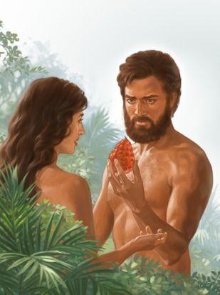 Adán Y Eva Desobedecen A Dios Lecciones De La Biblia Para Niños Adan Y Eva Lecciones De La Biblia Biblia
