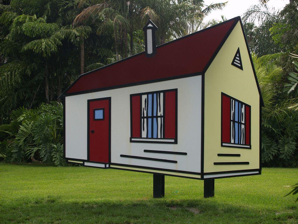 Roy Lichtenstein Sculpture at Fairchild #Lichtenstein ...