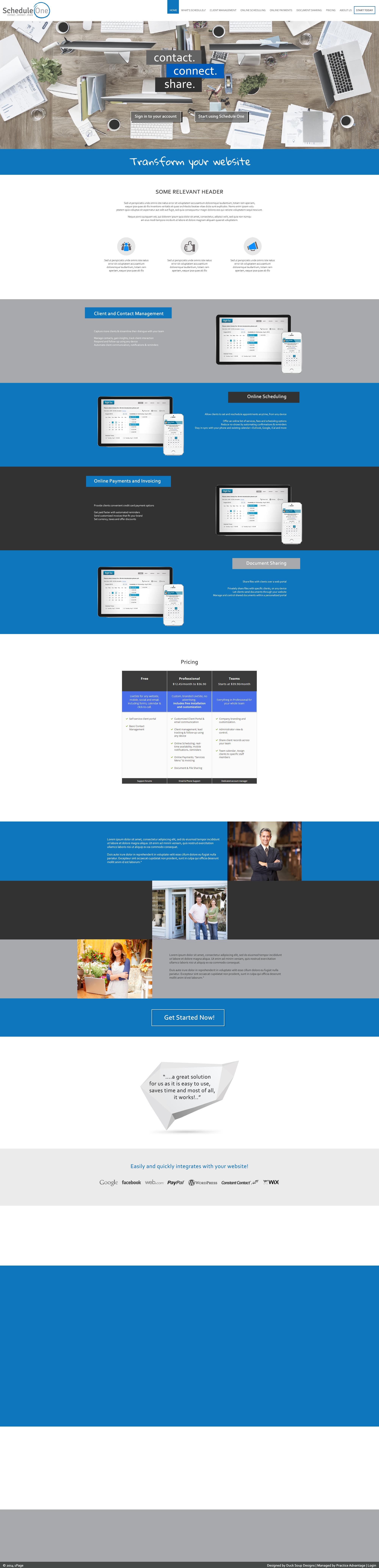 Web design by Duck Soup Designs