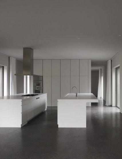 Bat Architectuur St House Internal Design Kitchenette Bungalows Kitchen Interior Belgium