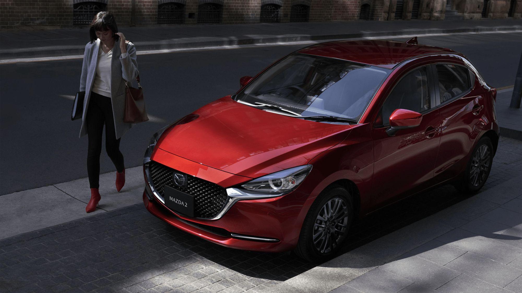 All New Mazda 2 2021 Pictures In 2020 Mazda Hatchback Mazda 2 Mazda