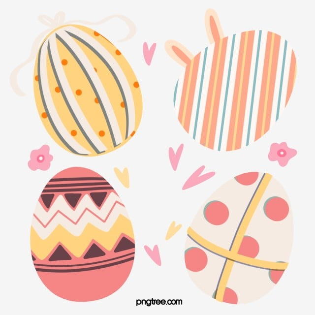 Minimalistic Hand Drawn Easter Egg Elements Easter Clipart Easter Egg Png Transparent Clipart Image And Psd File For Free Download Easter Graphics Easter Illustration Easter Eggs