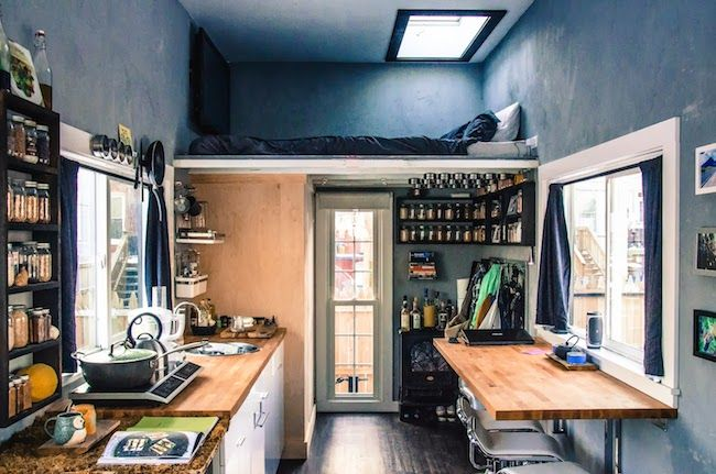10 Dreamy Skylit Sleeping Lofts Tiny House Listings