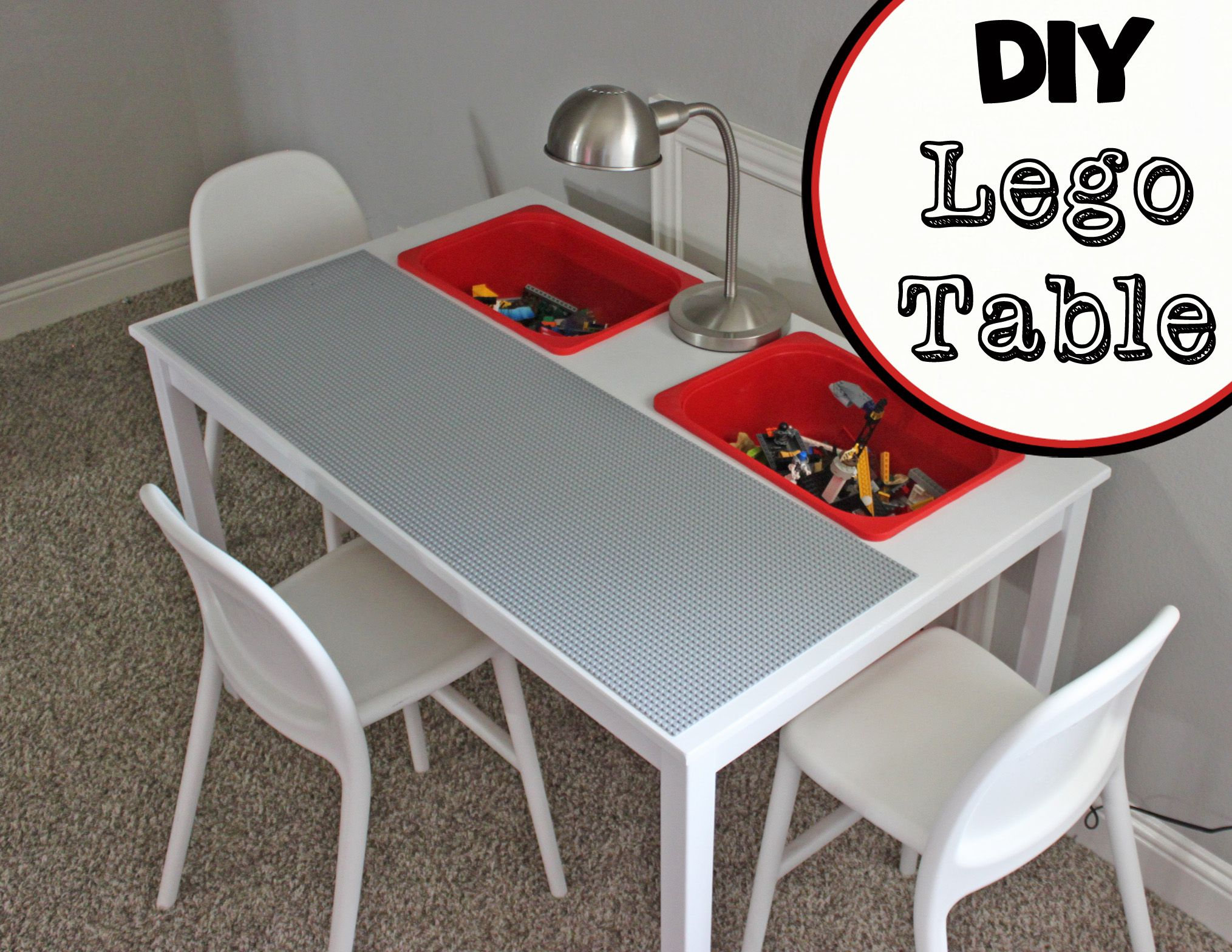 diy lego table all the info to make this table from an ikea dining table