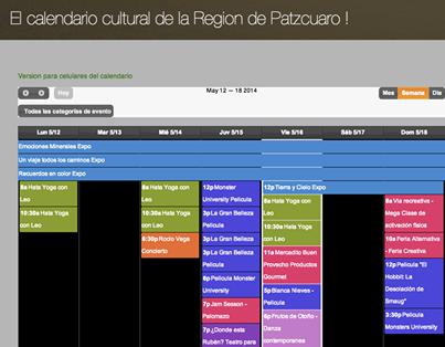A partir de ahora la región de Pátzcuaro cuenta con su propia Gaceta Cultural en internet en http://www.gaceta-patzcuaro.com/ Donde se puede ver el quehacer cultural de la Región de Patzcuaro de viernes a jueves cada semana. Visítalo y no pierdas la oportunidad de disfrutar alguno de los increíbles eventos que nos ofrecen.