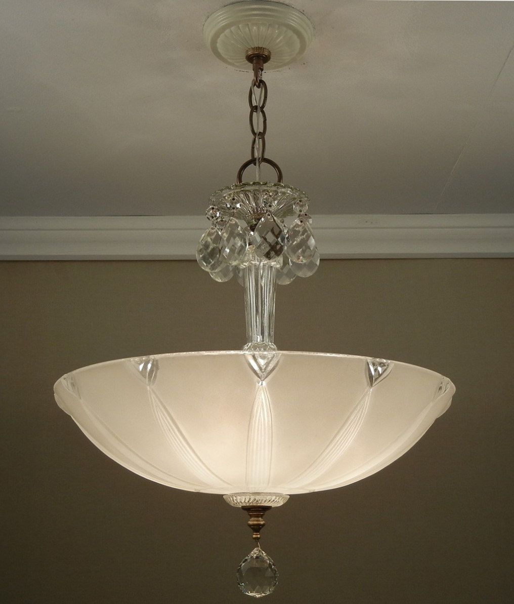 Large antique 1920s vintage victorian deco ivory satin glass ceiling large antique 1920s vintage victorian deco ivory satin glass ceiling light chandelier 16 rewired 16 arubaitofo Images