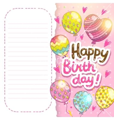Happy birthday card background vector by kostolom3000 on happy birthday card background vector by kostolom3000 on vectorstock bookmarktalkfo Choice Image