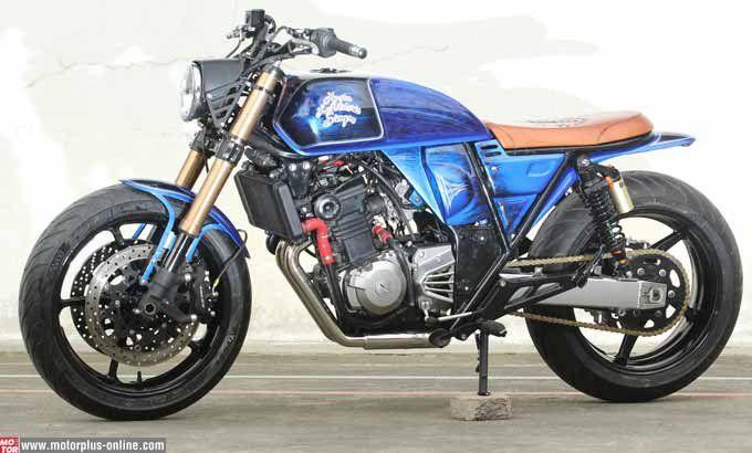 Gallery Foto Modifikasi Kawasaki Ninja 250 Cafe Racer Sepeda Motor