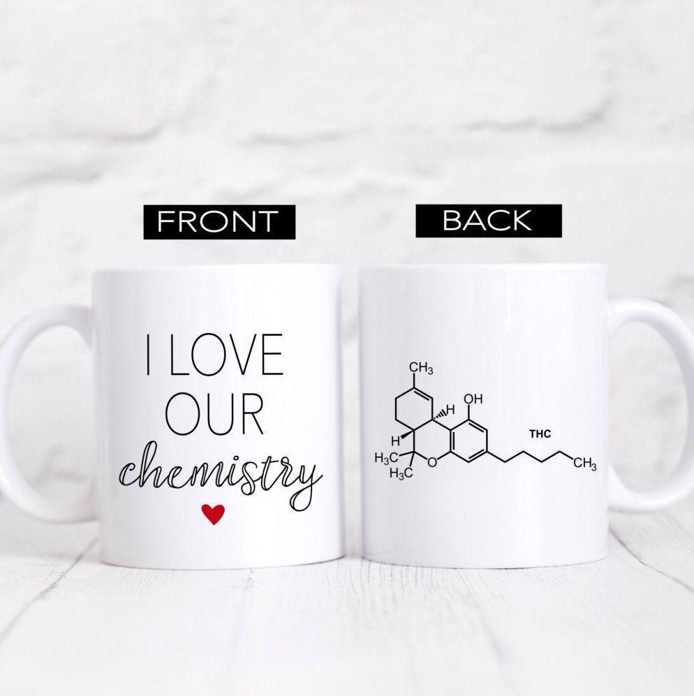 Funny Mugs Valentines Day Mug Chemistry Mug Gift for Wife Bride Gift