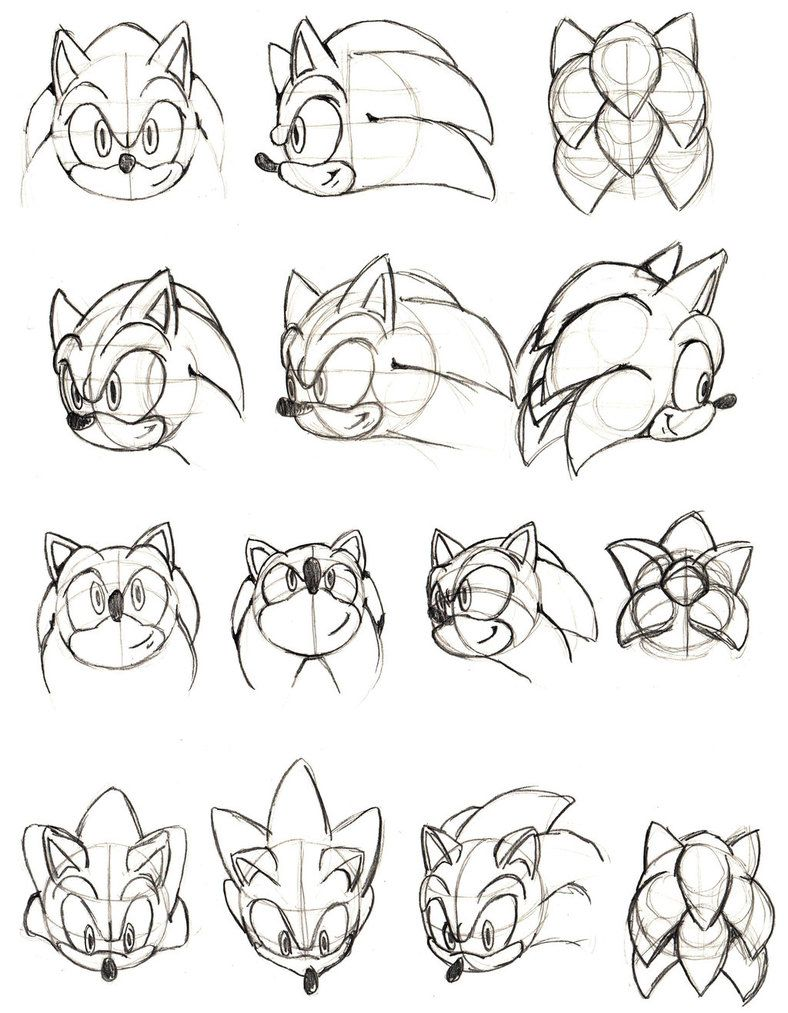Sonic And Metal Sonic Studies Part 3 By Theenigmamachine How To Draw Sonic Sonic Sonic Art
