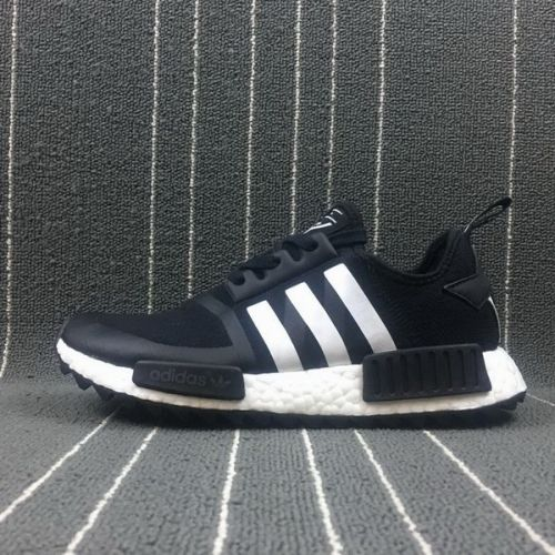 official photos 1f64f 297ac High Quality Men White Mountaineering x Adidas NMD Trail Black White BA7518  For Sale