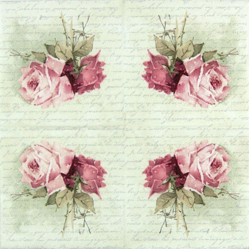 Botanical Mix Vintage for Party 4x Paper Napkins Decoupage Craft