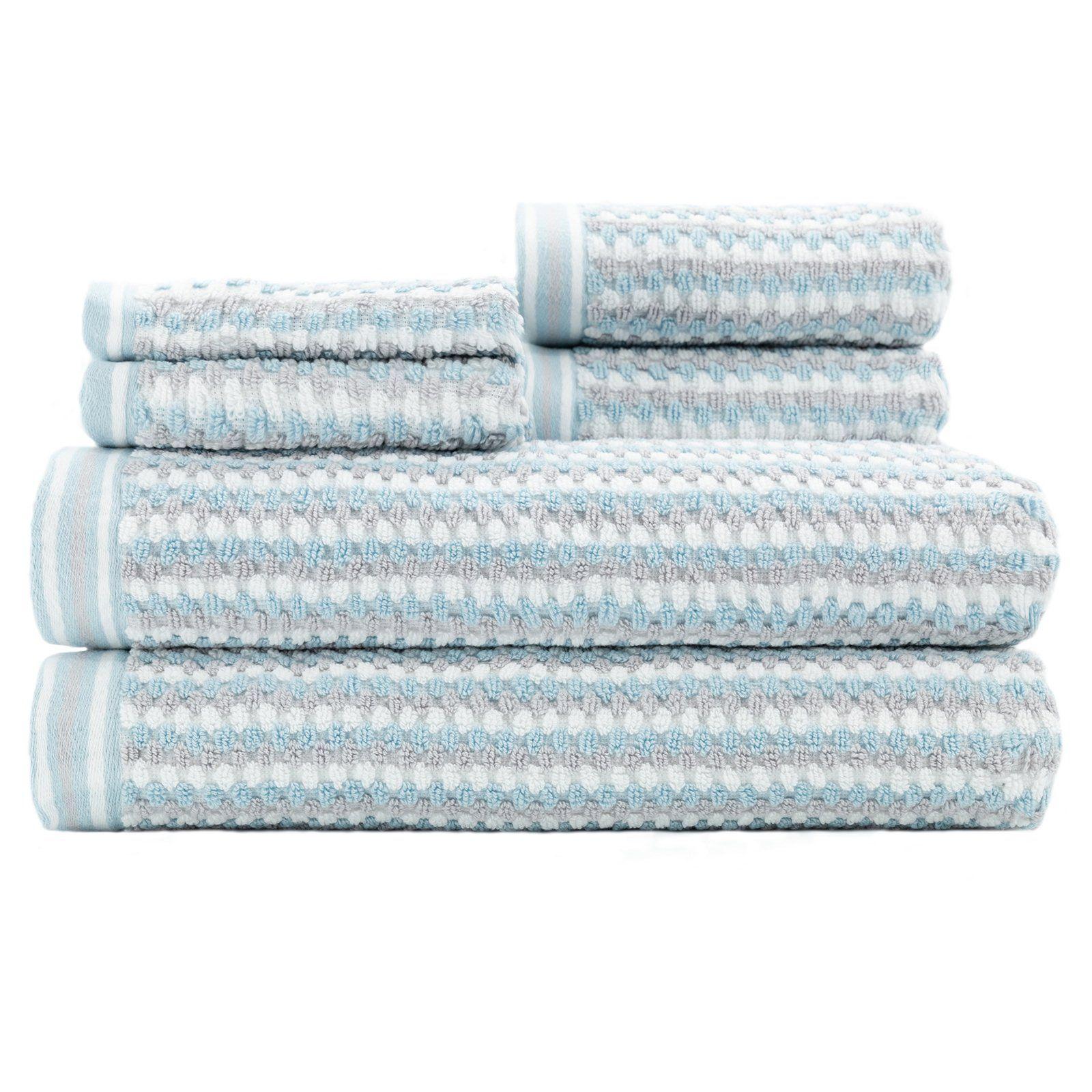 Wakefield 6 Piece Bath Towel Set By Caro Home Caro Home Towel