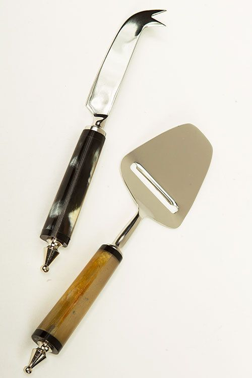 Mothology.com - Set of 2 Horn Cheese Knives, $39.95 (http://www.mothology.com/set-of-2-horn-cheese-knives/)