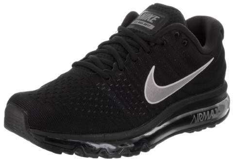 NIKE Mens Air Max 2017 Running Shoes Black/White/Anthracite 849559-001 Size