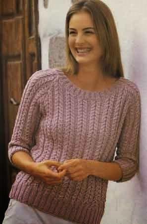 длинный свитер без воротника вязание схемы поиск в Google