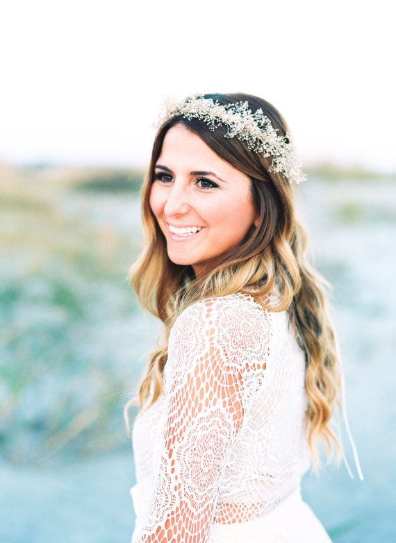 29 Fake Wedding Flower Crowns Youll Want to Get Your Hands On