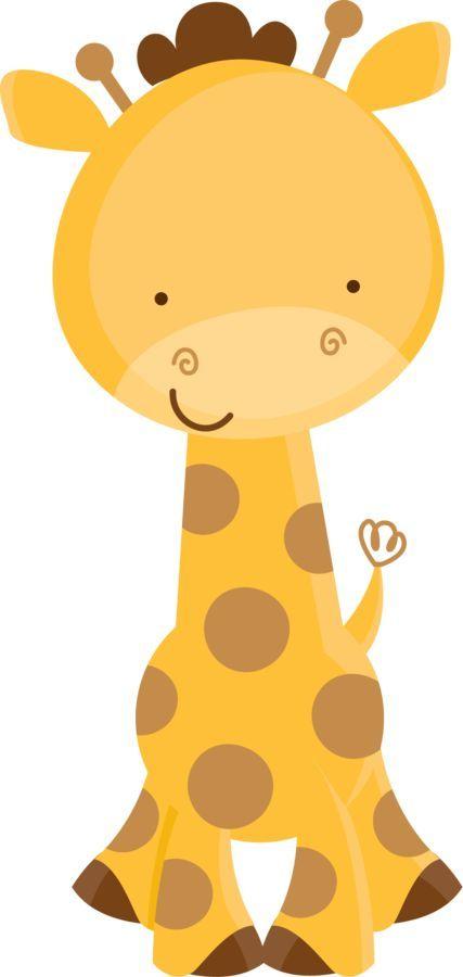 Girafa fofa n o desenhos pinterest girafa safari e festa safari - Babyzimmer jungle ...