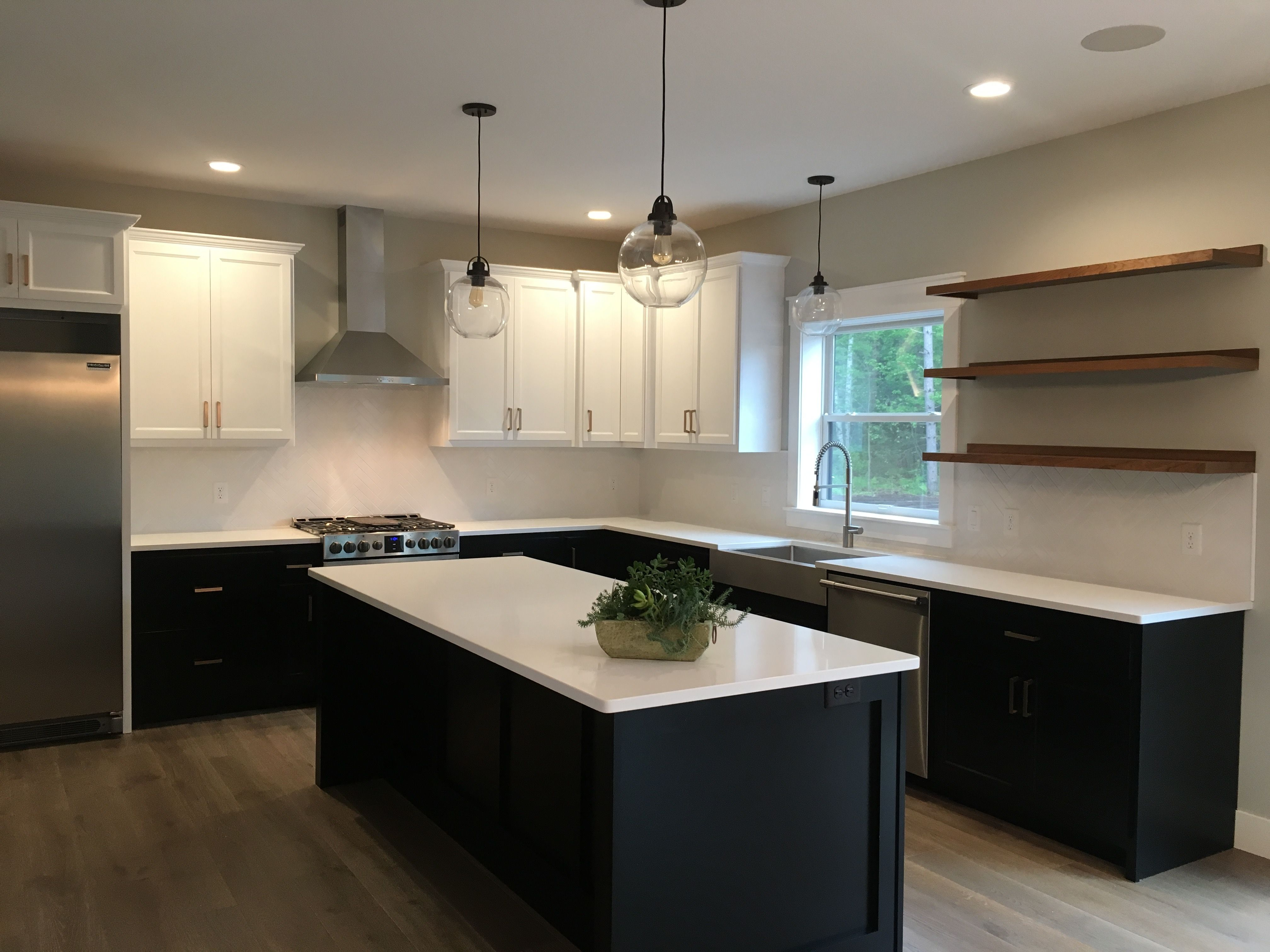modern kitchen   c&m home builders and real estate   eau claire, wi
