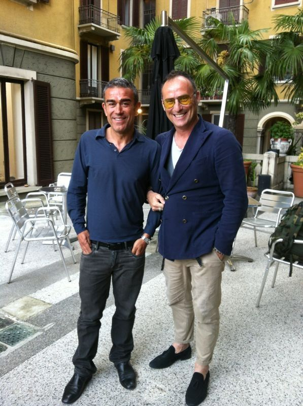 buy popular 0e681 bdd12 Me and Mr.Giuseppe Pizzetta owner SaPi Milano. | My Style ...