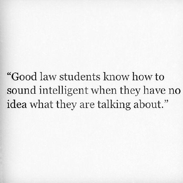 Good law students