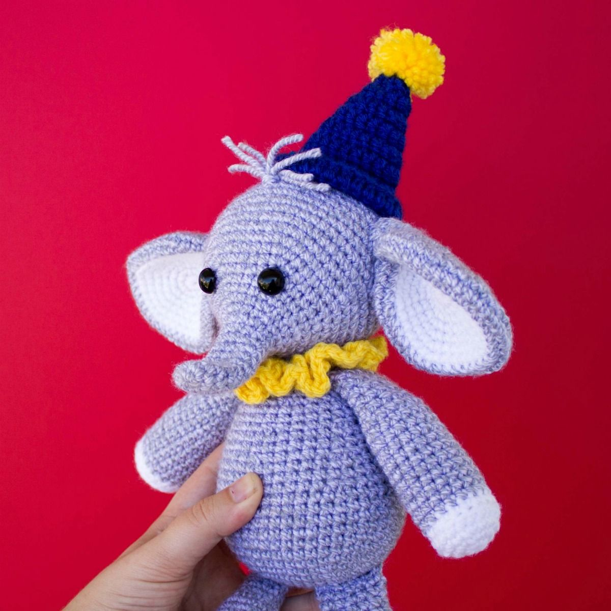 Crochet Elephant Softie and More Free Patterns Tutorials | 1200x1200