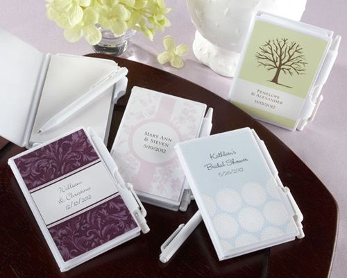 Offer Your Guests A Thank You Gift Worth Noting When P Out The Noteworthy Journal And Pen Favor 4 High X 3 Wide 0 5 Deep