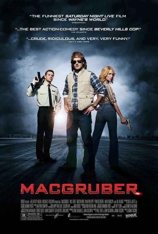 Macgruber 2010 Snl Movies Movies Movie Posters