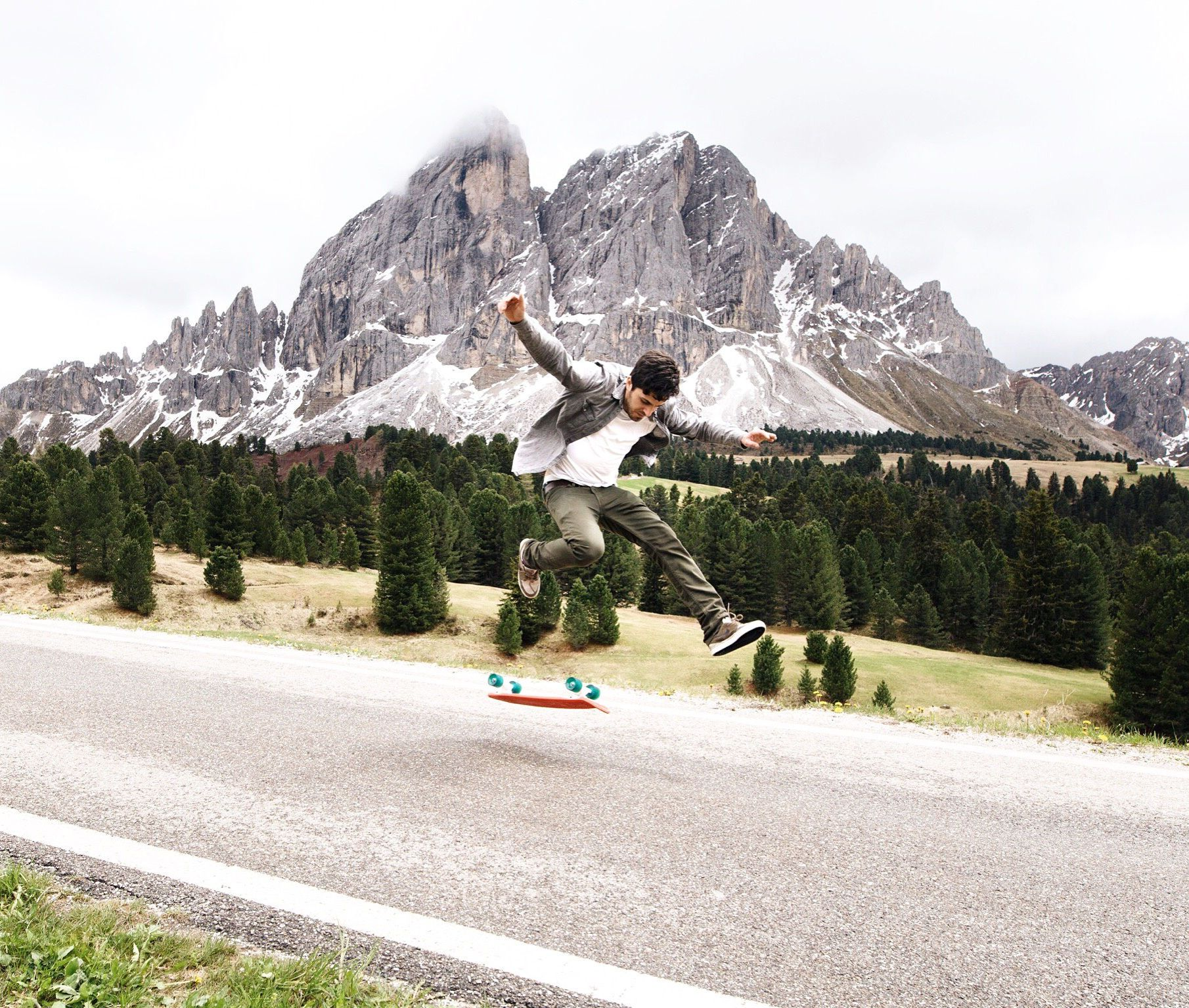 360 flip in the Dolomites  Landscapes photo by Lyes http://rarme.com/?F9gZi