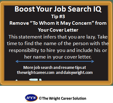 Remove To Whom It May Concern From Your Cover Letter  Boost