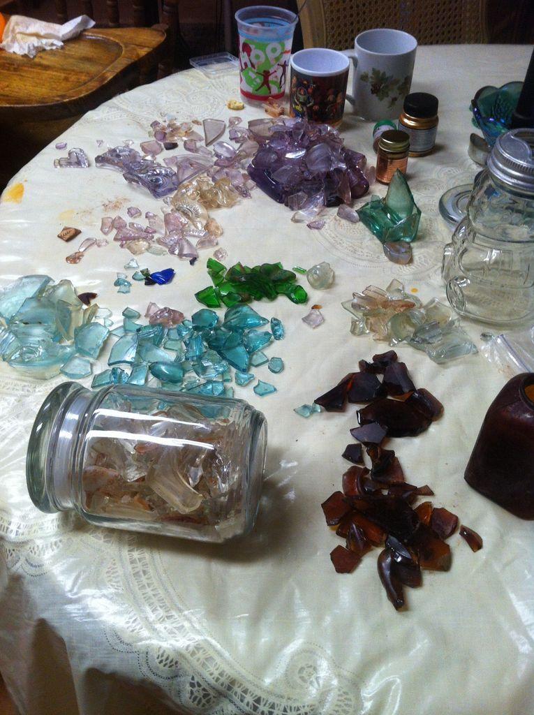 Make Glass Beads From Broken Bottles (+video) Broken