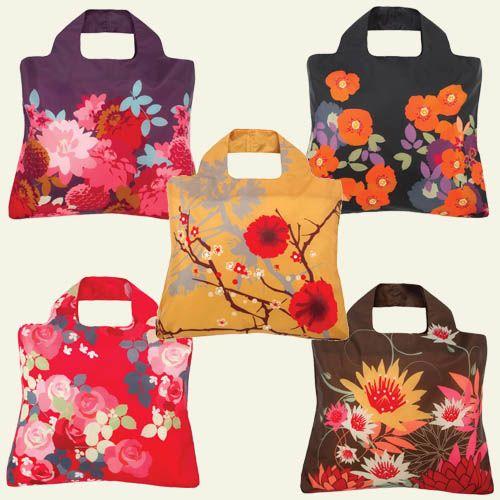 pretty, reusable shopping bags | ideas I Love | Pinterest ...