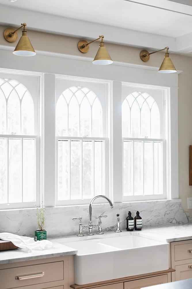 Boston Functional Single Arm Library Light In 2021 Light Above Kitchen Sink Modern Kitchen Sinks Kitchen Sink Lighting