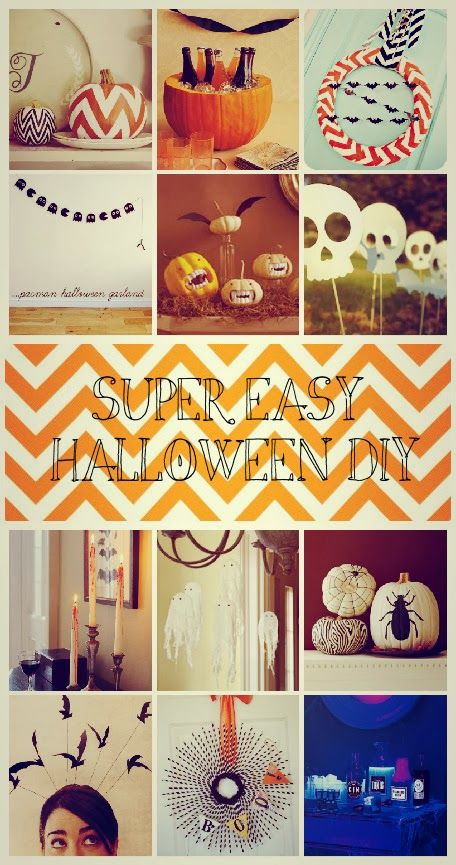 12 DIY Halloween Decorations Halloween Pinterest DIY Halloween - halloween decorations party