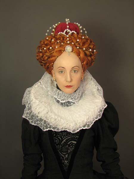 Encantador peinados edad media Colección de tendencias de color de pelo - Queen Elizabeth Hair (With images) | Historical hairstyles ...