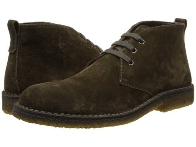 Vince Olive Italian Suede Mens Chukka Boots   Men's Boots ...