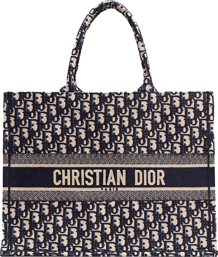 2b0ffc844 Dior Book Tote - Oblique Navy in 2019 | wear | Christian dior bags ...