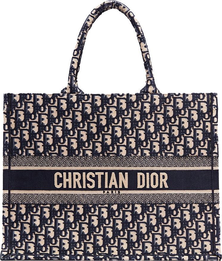 12de0f2a5 Dior Book Tote - Oblique Navy in 2019 | wear | Christian dior bags ...