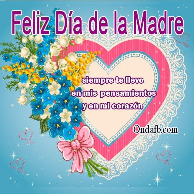 Carteles Del Dia De La Madre Con Imagenes Dia De Las Madres
