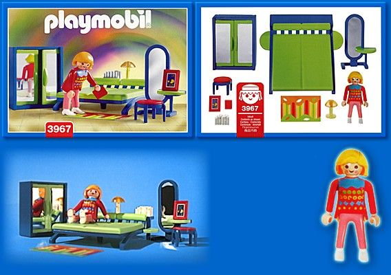 PLAYMOBIL set 3967 Modern Bedroom Playmobil