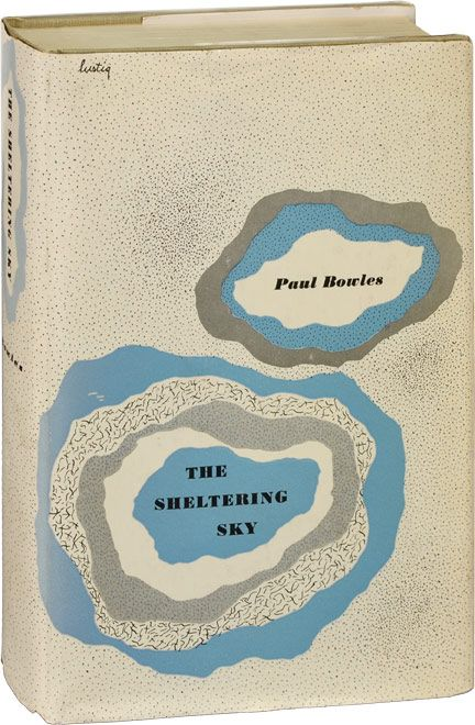 Paul BOWLES, The Sheltering Sky, Cover art by Alvin Lustig from the first American edition (New Directions, 1949)